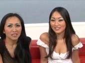 Evelyn Lin and Kitty Langdon Threesome Sex