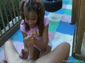 Keeani Lei in Teen Handjobs